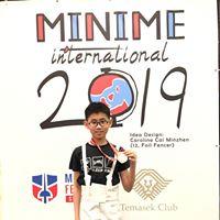 新加坡Minime International fencing competition 2019